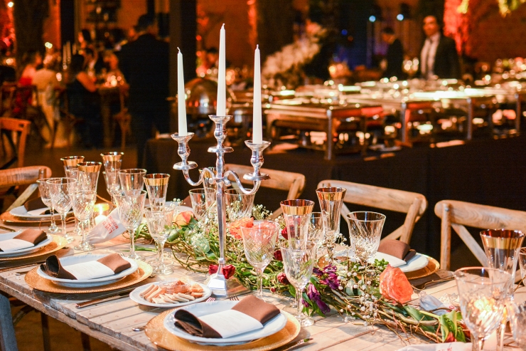 4 mesa cena formal